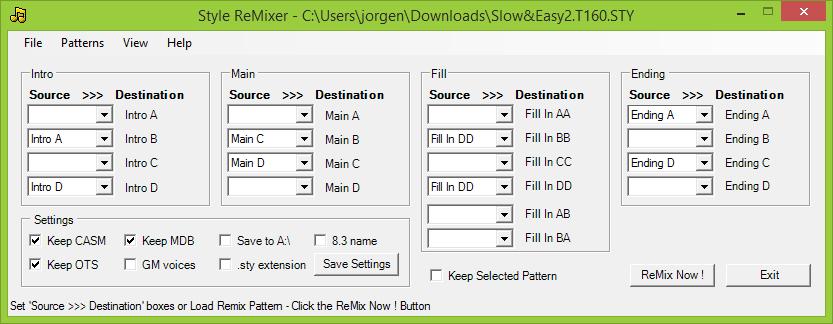 Remix of older file